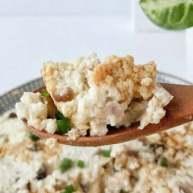 宝宝辅食:虾皮粉蒸豆腐饼-虾皮粉的鲜味与豆香融为一体,高钙高蛋白,鲜美又惹味!12M+