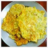 苦瓜鸡蛋饼#健康美颜餐#