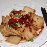 凉拌洛南豆腐干