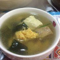 带籽鲫鱼排骨海藻汤
