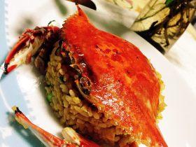 蟹黄蛋炒饭