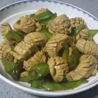 青椒炒腰花