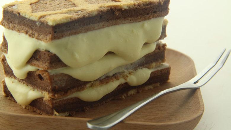 熔岩夹心蛋糕