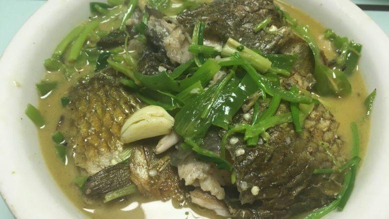 青椒焖草鱼