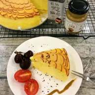 红枣花生芝麻酱乳酪蛋糕