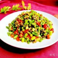 蒜苔炒螺絲肉(香辣版)