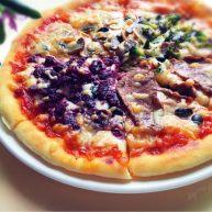 意式四季披萨