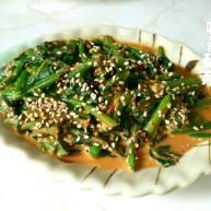 麻酱拌菠菜+#春意绿#