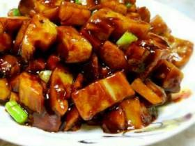吃了一碗米饭还想来第二碗的超级甜酸糖醋藕丁--炸掉你的味蕾