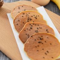 2分钟学会健康减脂早餐——香蕉松饼