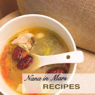 一碗暖胃也暖心的汤-花胶螺肉红枣鸡汤