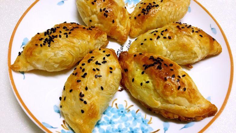 榴莲酥(蛋挞皮简易版)