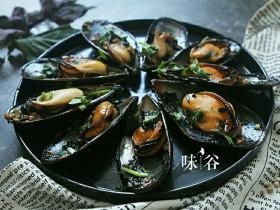 紫苏炒青口