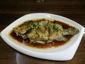 葱油桂花鱼