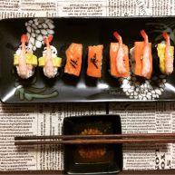 DIY家庭壽司刺身拼盤