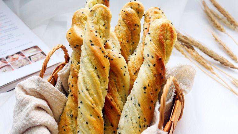 黑芝麻椰蓉面包棒