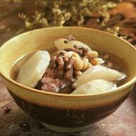 清热祛湿的沙葛猪骨汤