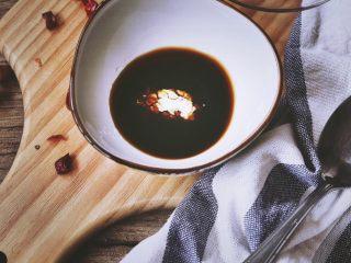 宫保鸡丁(无油 健康低脂),最后放半勺淀粉 放置一旁备用