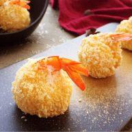 凤尾虾球一一烤箱版