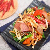 萝卜干炒腊肉-经典不衰的腊味美食