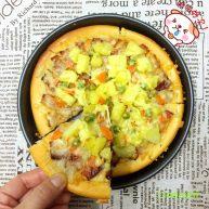 培根菠萝味披萨🍕