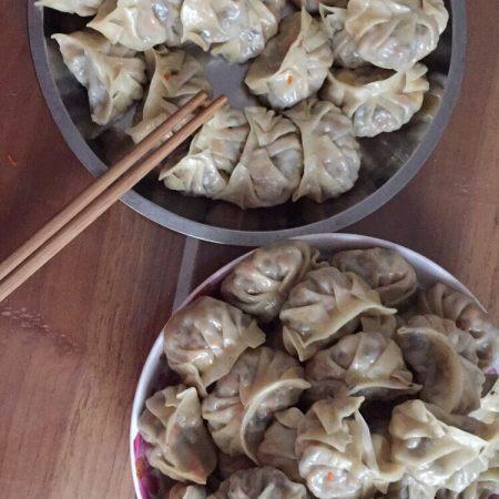 黄干笋木耳胡萝卜猪肉饺子