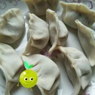 香茹包菜猪肉饺子