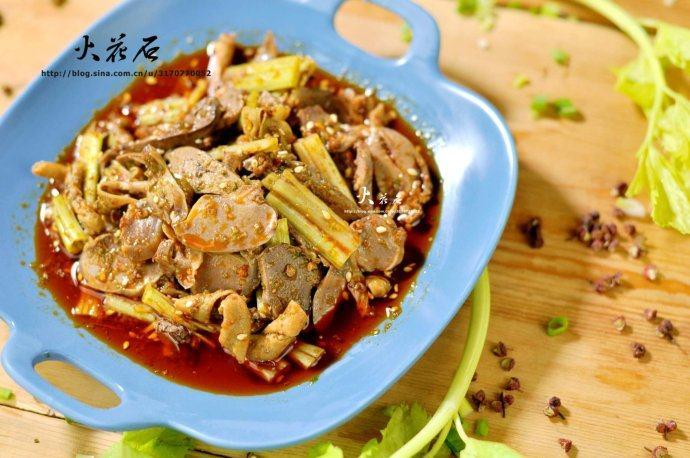 【椒麻鸡杂】—川菜独特味型的典范