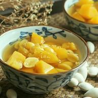 春季祛痰又补脾胃的白果番薯糖水