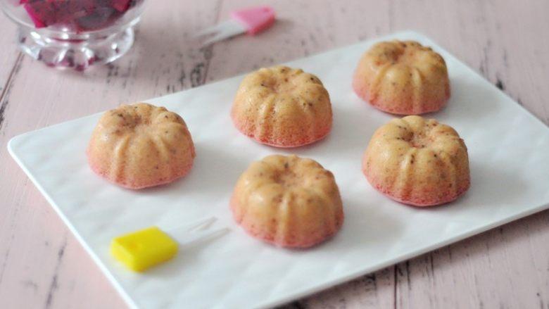 火红果藜麦海绵蛋糕