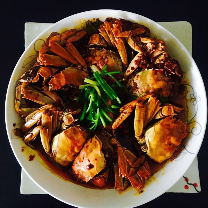 香辣蟹收藏分享河蟹00需要食材v河蟹干净的菜谱五个f豆瓣酱四川火锅的调味品有哪些图片