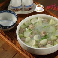 瓠子粉丝汆丸汤