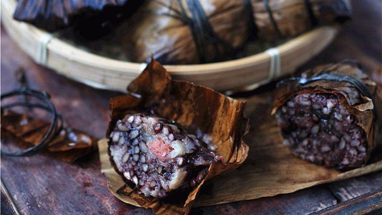 鲜掉眉毛的湘西特色美食——笋壳腊肉棕