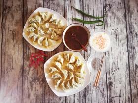 青菜猪肉饺子