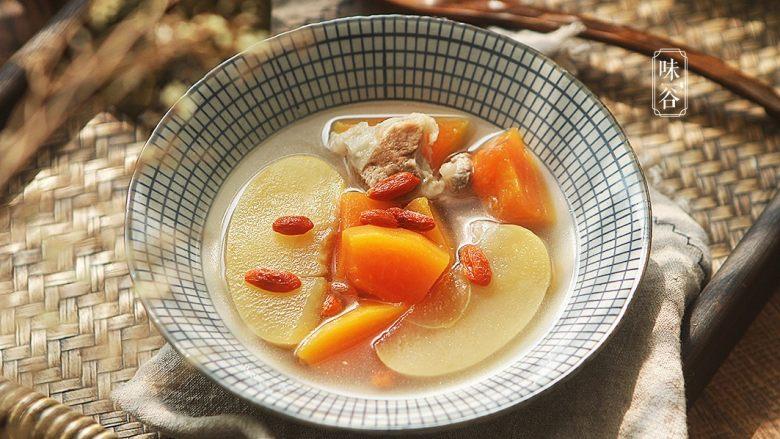 木瓜苹果瘦肉汤