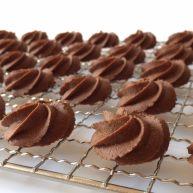 真正有巧克力的巧克力曲奇