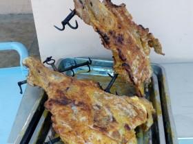 新疆烤羊腿