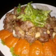 杂粮焖羊羔肉