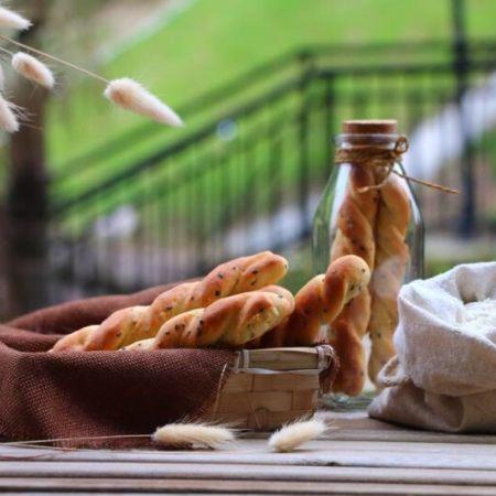 胖嘟嘟的面包棒