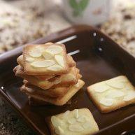 咔吱咔吱,香浓酥脆的-----杏仁瓦片酥