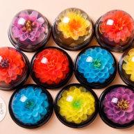 這些美爆了的3D果凍花居然是用吸管做的