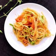 意大利面原來可以這樣做,簡單、營養、美味