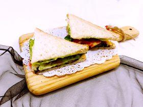芝士吐司三明治