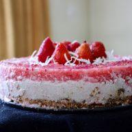 清爽香草水果蛋糕