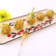 西兰花紫菜饭团