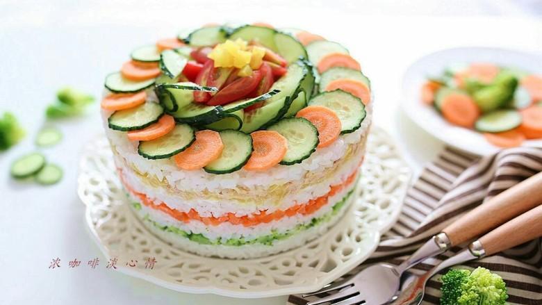 米饭蛋糕:剩食变身高颜值美食