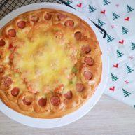 培根火腿鮮蝦披薩