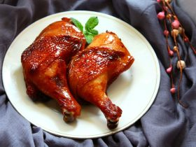 蜜汁叉烧烤鸡腿