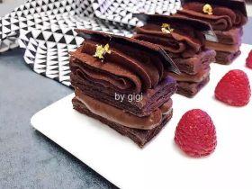 法式巧克力千層派 -- 西原金藏