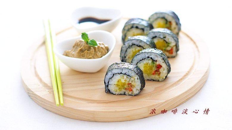 牛油果紫菜包饭:适合夏季的高营养清爽主食